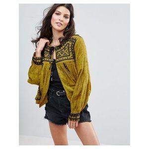 Free People 'Twilight Folk' jacket size m